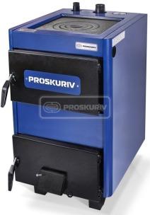 Твердопаливний котел Проскурів АОТВ-18КМ з плитою
