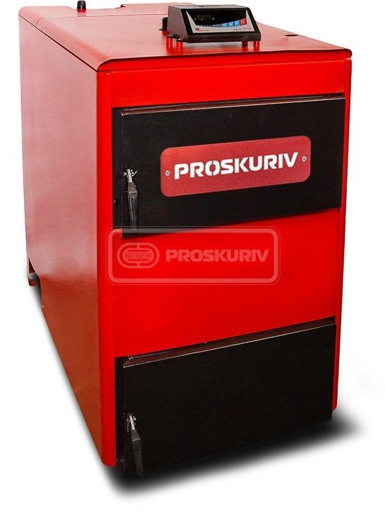 Твердопаливний котел Проскурів АОТВ-75 кВт з вентилятором
